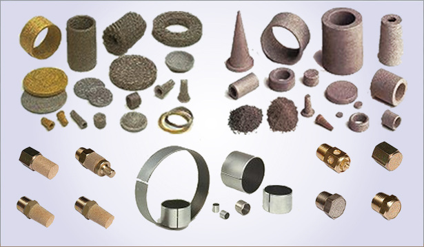 Sintered metal products